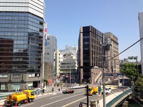 JR横浜駅東口周辺道路