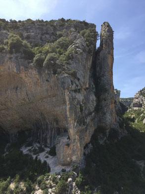 Séjour en Sierra de Guara (Espagne) - 8 - 15 Août 2015