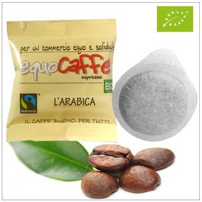 cialde ese 44 mm equocaffe arabica