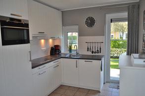 Einbauküche Ferienhaus Zeeduin