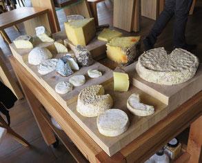 ワゴンのチーズ
