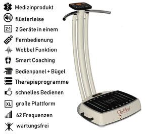 Vibrationsplatte Galileo Med Fit, Vibrationstrainer, Galileo Training, gebraucht, kaufen, Preise, Preis, Test, Vertrieb: www.kaiserpower.com