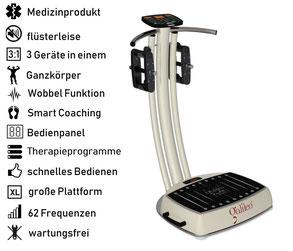 Vibrationsplatte Galileo Med Fit Extreme Sensor, Vibrationstrainer, Galileo Training, gebraucht, kaufen, Preise, Preis, Test, Vertrieb: www.kaiserpower.com
