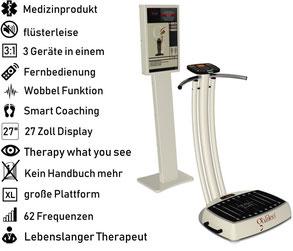 Vibrationsplatte Galileo Med Fit Chip PT, Vibrationstrainer, Galileo Training, gebraucht, kaufen, Preise, Preis, Test, Vertrieb: www.kaiserpower.com