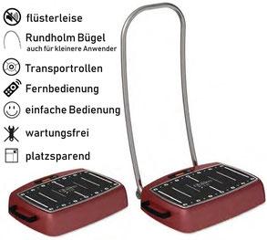Vibrationsplatte Galileo S 25, Test, Vergleiche, Studien, Vibrationstraining, Galileo Training, Preise, kaufen, Vibrationstrainer: www.kaiserpower.com