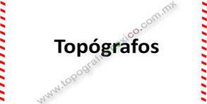 topografos topografia mexico