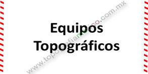 topografia mexico equipo topografico