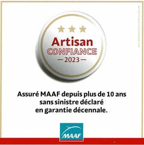 Certification: Artisan confiance MAAF