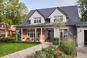Helle Eichendiele, Landhausdiele XL, Außenansicht Haus