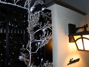 クリスマスイルミネーション 取付施工事例 東京都世田谷区 N様邸 横浜スイートクリスマスカンパニー
