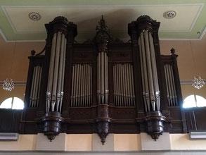 L'orgue de l'église de Niderviller