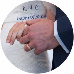 Zivile Trauung, Standesamtliche Hochzeit, Eheringe Goldene Trauringe, Ringfinger, Brautpaar, Hände