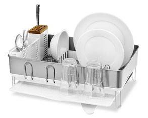 SIMPLE HUMAN Steel frame dishrack, European Consumers Choice,