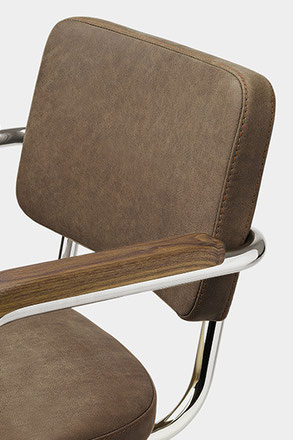 S64 PV - Pure Materials Leather by Thonet