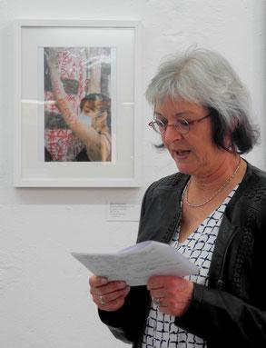 Ausstellung , GEDOK Heidelberg, GEDOK Galerie,  Foto: Hans Schierz-Crusius, Petra Lindenmeyer, Dr. Monika Maier-Speicher