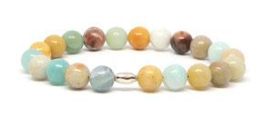 bracelet homme en perle précieuse