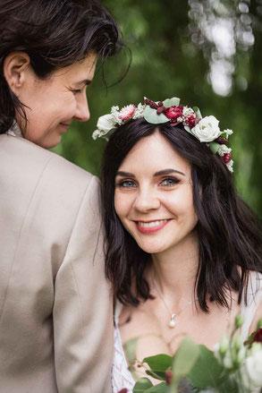 Hochzeitsfotos auf Schloss Diedersdorf