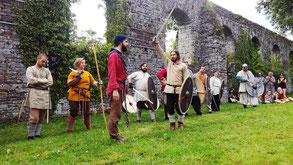 Abbaye de la Lucerne - Village viking et normand