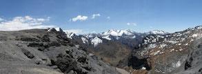 Nous sommes à quasi 5000 m d'altitude