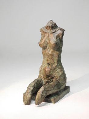 Figur 267D, Bronze, 2015, 17,8x8,5x13cm