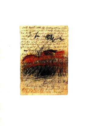 opera originale di Oliana Spazzoli a tecnica mista