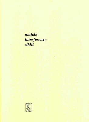 copertina con stampa tipografica in nero