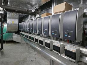 Wechselrichteranlage für den Solarstrom
