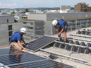 Solarstrom für weniger CO2