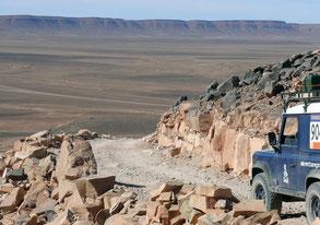 Offroad - Reise in Marokko, Bergpiste