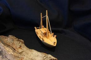 Holzspielzeug - Segelschiff - Zweimaster