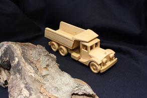 Kipptransporter - Lastwagen - Holzspielzeug