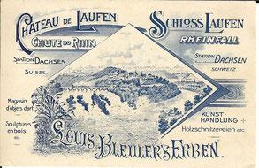 Dachsen Rheinfall Bleuler Ludwig's Erben
