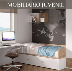 Tienda de muebles en Valencia, mobiliario juvenil e infantil