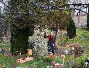 Aktion auf Tierfriedhof © LBV Mühldorf