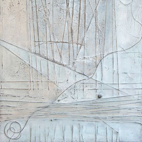 Vera Becker, experimentelle Malerei 2021