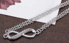 Infinityarmband, Armband mit Unendlichkeitszeichen, Infinity Schmuck online kaufen