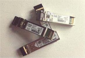 SFP-10G-SR Cisco et GLC-SX-MMD Cisco