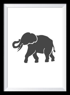 Illustration - Elefant