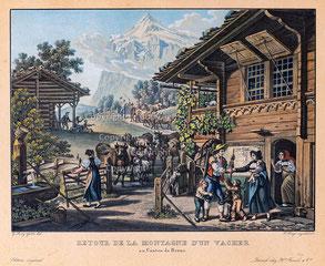 Nr. 3418 Retour de la Montagne d'un Vacher