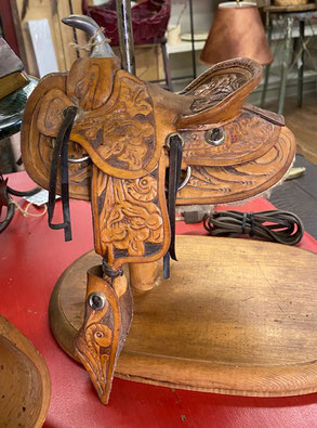 Saddle Lamp $200.00