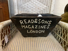 Read & Sons Magazines London Box $85.00