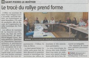 Le Journal du Centre, 18 mars 2013