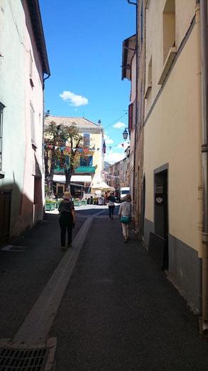 サン・タンドレ・レ・ザルプの街並み