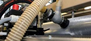 BioJet In-Press Reinigungsmaschine