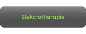 Button Aufschrift Elektrotherapie grau grüne Schrift