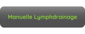 Button Aufschrift Manuelle Lymphdrainage grau grüne Schrift