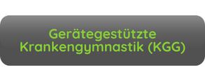 Button Aufschrift Gerätegestützte Krankengymnastik KGG grau grüne Schrift