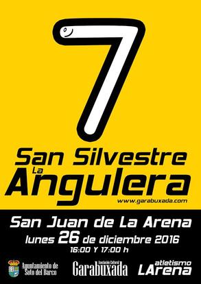 7ª SAN SILVESTRE LA ANGULERA - San Juan de la Arena, 26-12-2016