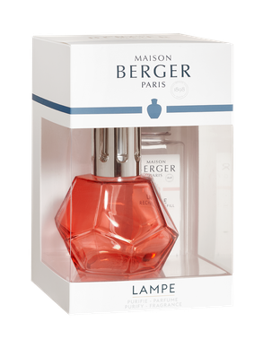 Lampe Berger Giftset Satin Rouge