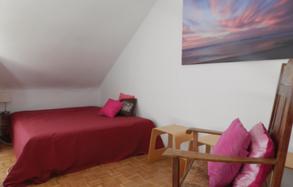 Französisches Bett 160x200 cm im Wohnzimmer